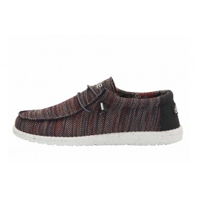 HEY DUDE SNEAKERS MULTI ROSSO