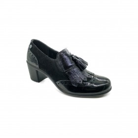 ENVAL SOFT 2252900 MOCASSINO NERO