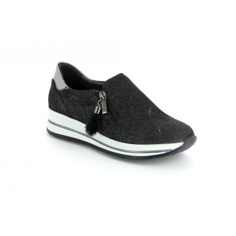 GRUNLAND SC3947 SLIP-ON BLACK