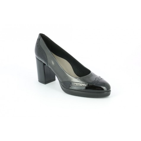 GRUNLAND SC4048 DECOLLETÉ BLACK