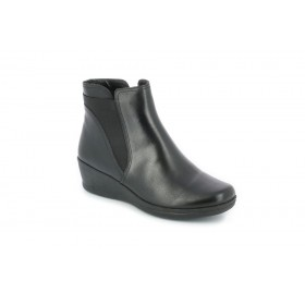 GRUNLAND PO1369 ANKLE BOOT BLACK