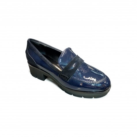 VIA TRIESTE 1806 MOCCASIN BLUE