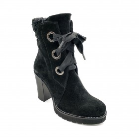 ROSE NOIRE R843 ANKLE BOOT BLACK