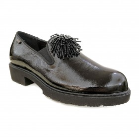 VALLEVERDE V17833 MOCCASIN BLACK