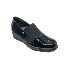 VALLEVERDE V17813 MOCCASIN BLACK