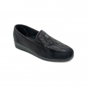 VALLEVERDE 23210 CLOSED SLIPPER BLACK