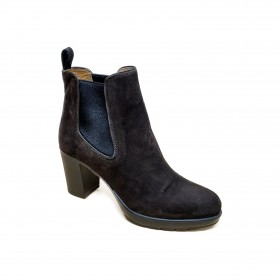 TRIVER FLIGHT 186-16 ANKLE BOOT DARK BROWN