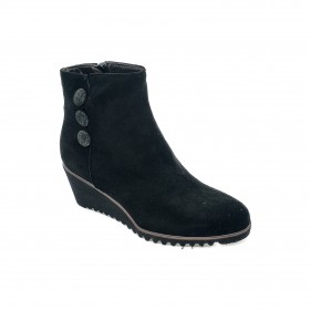 DANIELA ROSSI 12515 ANKLE BOOT BLACK