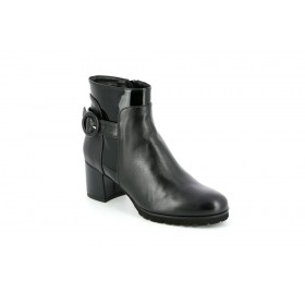 GRUNLAND PO1393 ANKLE BOOT BLACK