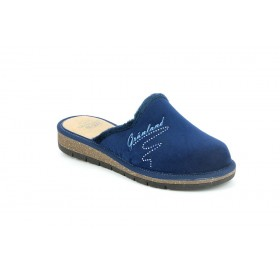 GRUNLAND CI1722 SLIPPER MEDIUM WEDGE BLUE