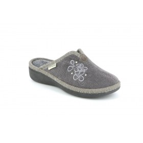 GRUNLAND CI1376 SLIPPER MEDIUM WEDGE GREY