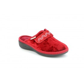 GRUNLAND CI1377 SLIPPER MEDIUM WEDGE RED
