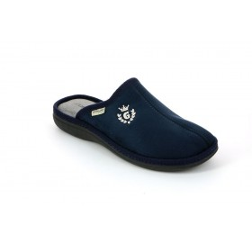 GRUNLAND CI0389 SLIPPER LOW WEDGE BLUE