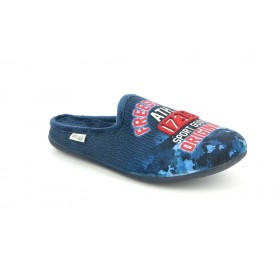GRUNLAND CI1411 SLIPPER LOW WEDGE BLUE