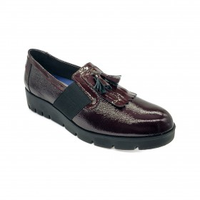 D.EFFE 8750 MOCCASIN BORDEAUX
