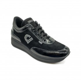 AGILE 1304-A SNEAKERS BLACK