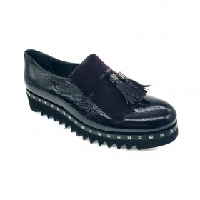 LE GAZZELLE 336-6275 SLIP-ON BORDEAUX