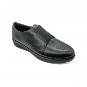 FIT FLOP N76 SLIP-ON BLACK