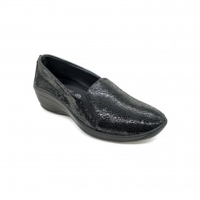 ARCOPEDICO 4693 MOCCASIN BLACK