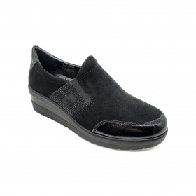 CINZIA SOFT IV7371C SLIP-ON BLACK
