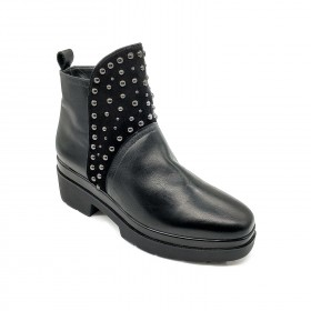VIA TRIESTE 1823 ANKLE BOOT BLACK