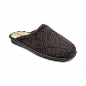 VALLEVERDE 37802 SLIPPER DARK BROWN