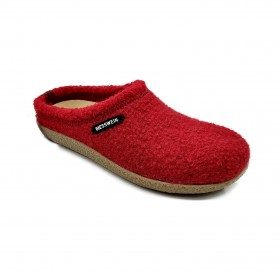 GIESSWEIN 47848 SLIPPER LOW WEDGE RED