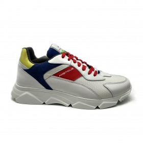 AMBITIOUS SNEAKERS BIANCO