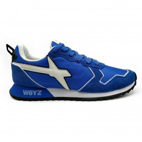 W6YZ 0012013560 SNEAKERS LIGHT BLUE WHITE