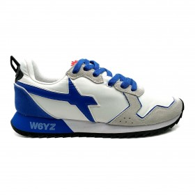W6YZ 0012013560 SNEAKERS WHITE LIGHT BLUE