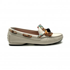 TRIVER FLIGHT 187 MOCCASIN WHITE