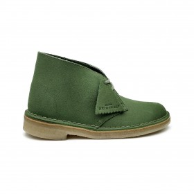 CLARKS ANKLE BOOT CACTUS GREEN