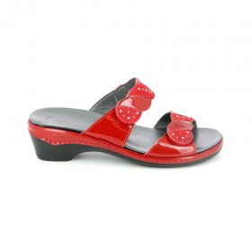 GRUNLAND CE0594 SLIPPER RED