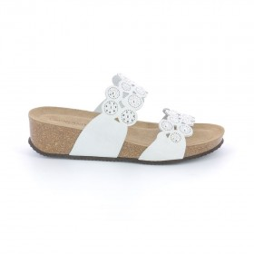 GRUNLAND CB1788 SLIPPER WHITE