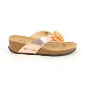 GRUNLAND CB1726 SLIPPER FLIP FLOP POWDER