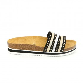 GRUNLAND CB1782 SLIPPER BLACK