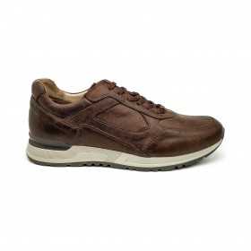 NERO GIARDINI P900830U SNEAKERS DARK BROWN