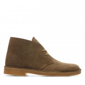 CLARKS DESERT BOOT POLACCHINE MARRONE