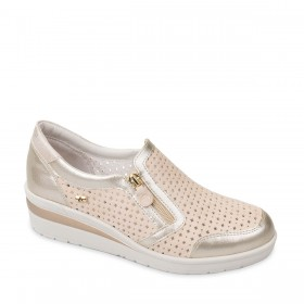 VALLEVERDE SLIP-ON SABBIA