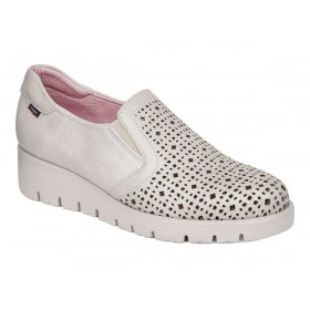CALLAGHAN SLIP-ON MOCASSINO SPORT PELLE TRAFORATA PIETRA