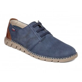 CALLAGHAN MOCASSINO SLIP-ON ELASTICI NABUK IDRO BLU