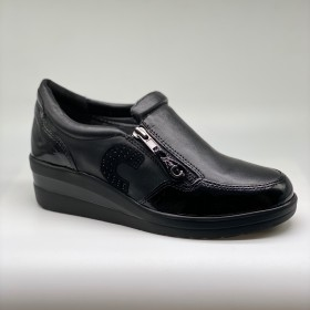 CINZIA SOFT SLIP-ON NERO