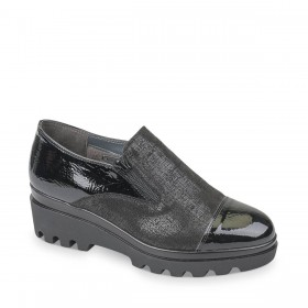 VALLEVERDE SLIP-ON NERO