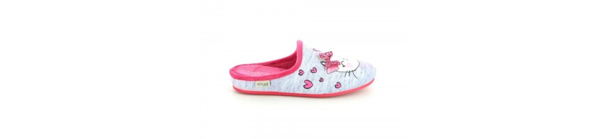 Low Wedge Slippers